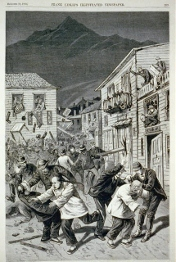 Anti-Chinese riot in Denver, 1880