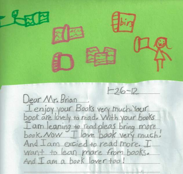 book lover letter