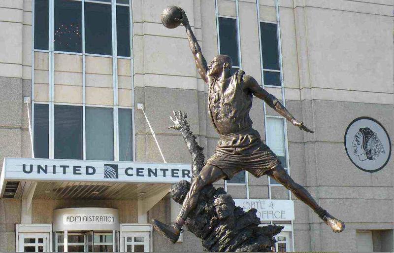 jordan statue