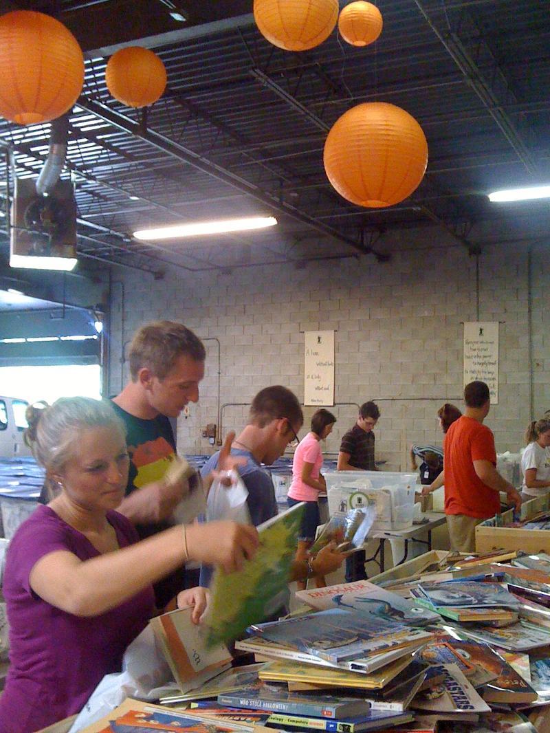 Abbott volunteers 1