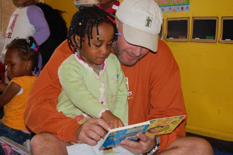 Brian at preschool