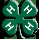 4-H Logo - Transparent