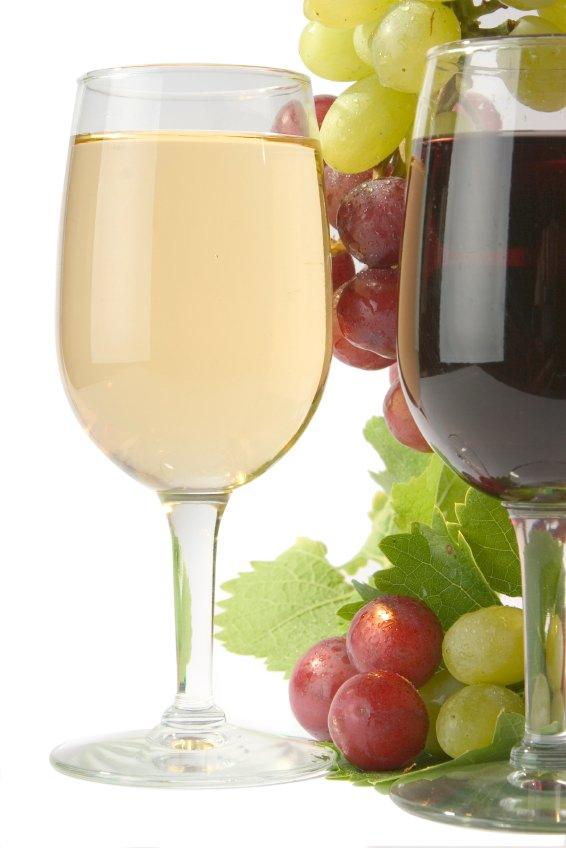 White & Red Wine