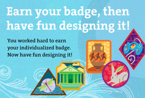 Earn Your Badge Design