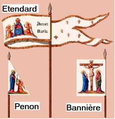 Joan of Arc banners
