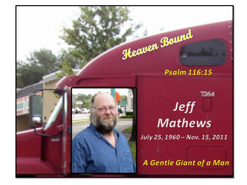 Jeff Mathews