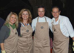 Oyster Roast Volunteers