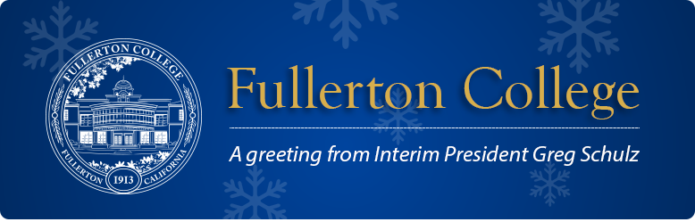 A greeting from interim president Greg Schulz