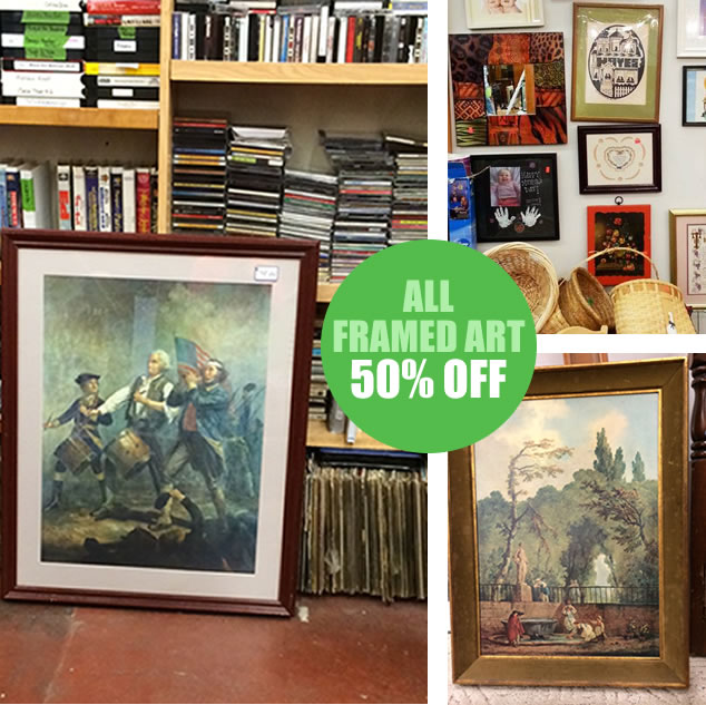Framed Art Is 50% Off!