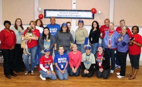 PetSmart Adoptions Volunteers Appreciation Event