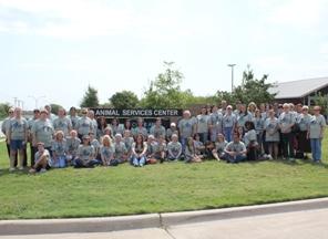 Arlington Animal Services Volunteers at Volunteer Appreciation Day
