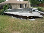 Dilapidated Swimming Pool