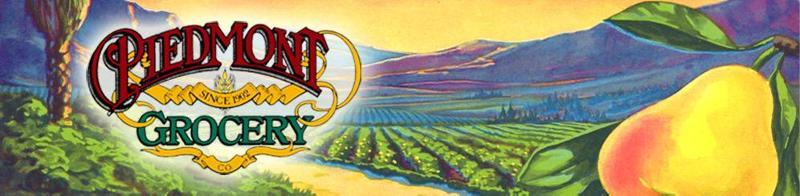 Piedmont Grocery Banner