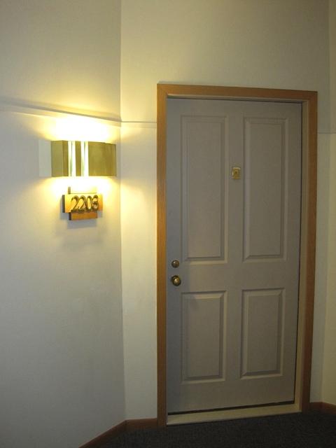Condo Hallway Before 1
