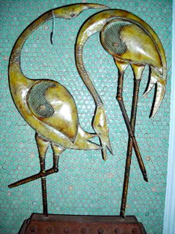 Yin Yang Swans