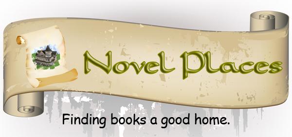 Novel Places bookstore logo