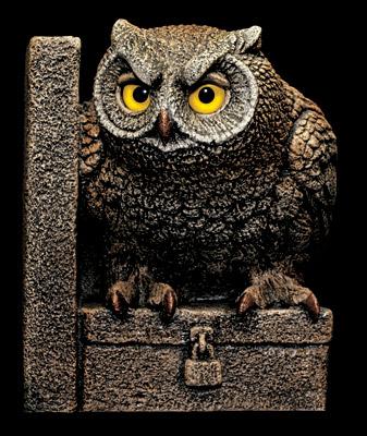 Owl Bookend Sculpture