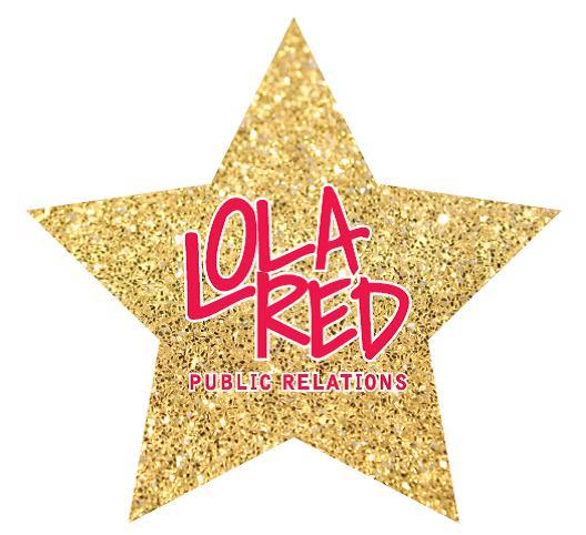 Lola Red Glitter Logo