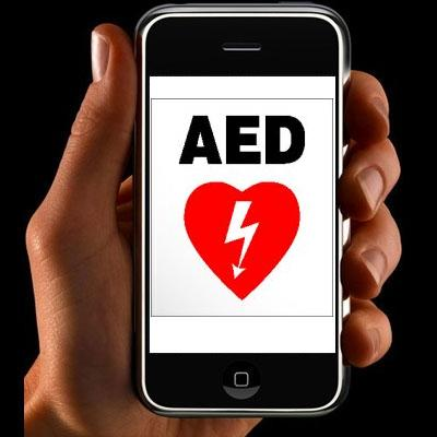iPhone AED app Image