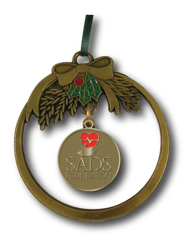 Brass Holiday Ornament