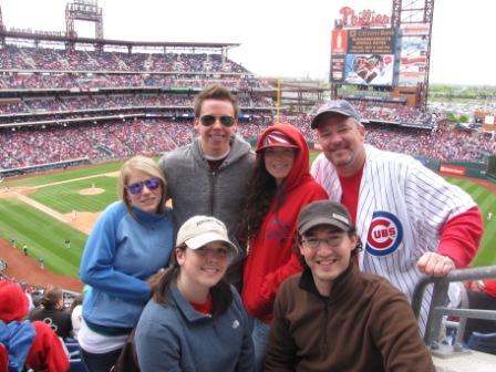 Bob DeVries Cubs Game