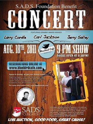 Bluebird Benefit Concert