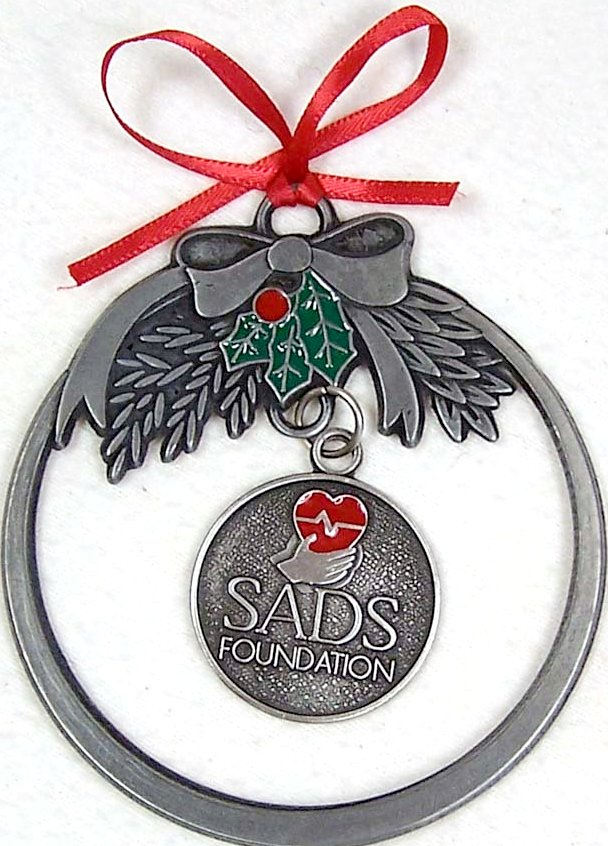 Pewter SADS Ornament