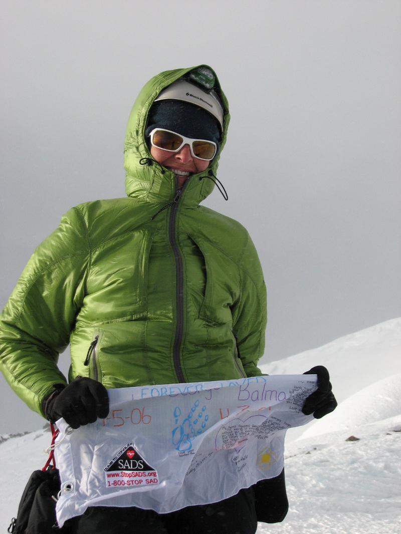 Climber w/ Green Jacket