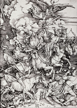 "Dürer's ""Four Horsemen of the Apocalypse"""