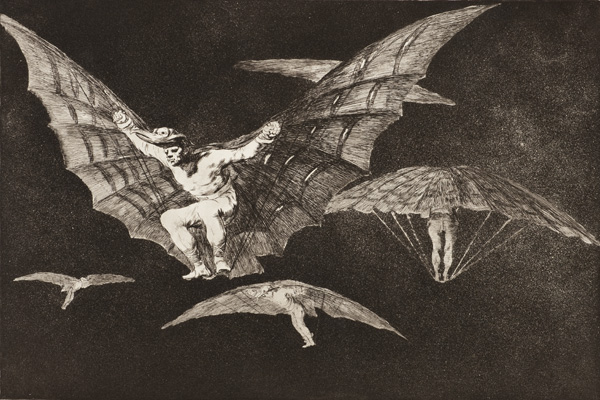 Francisco Goya, A Way of Flying