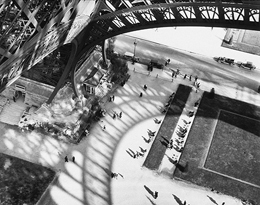 "Andr� Kert�sz ""Shadows of the Eiffel Tower"""
