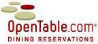open table reservation