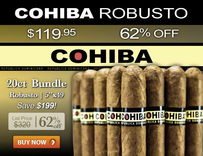 Cohiba Robusto $119.95