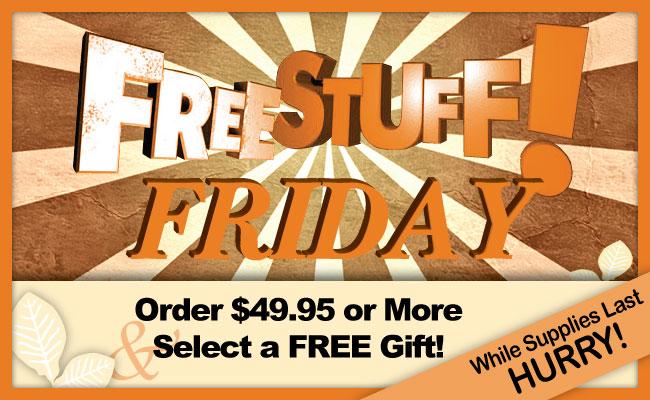 Free Stuff Friday!!