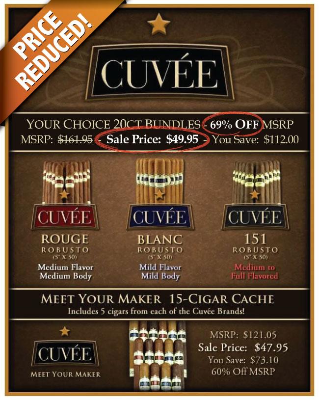 Cuvee - NEW LOWER PRICE