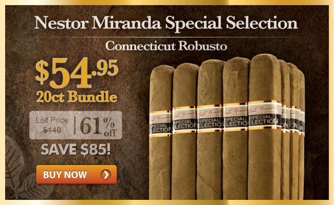 Nestor Miranda Special Selection Connecticut Robusto