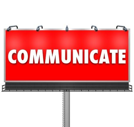 Communicate Billboard