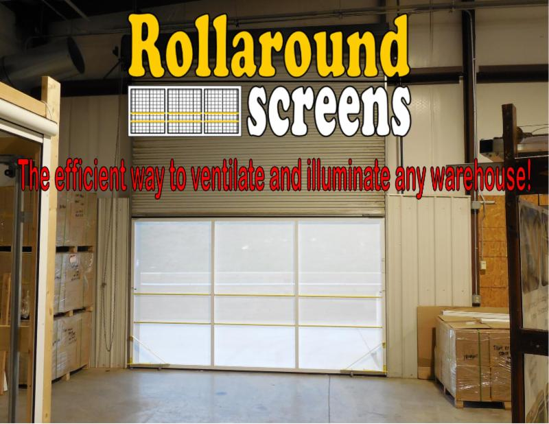 Daytime Security And Ventilation For Roll Up Warehouse