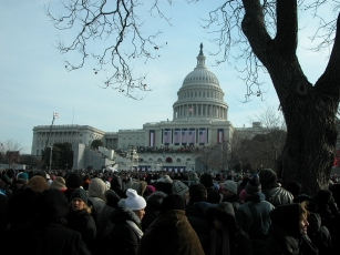 Crowd at the capitol