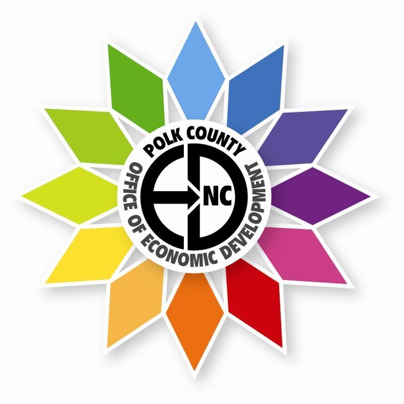 Polk EDC flower logo