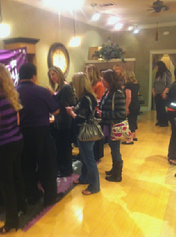 Talk of the town salon ladies night was a success for 365 salon success