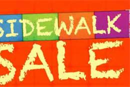 Sidewalk Sale Orange
