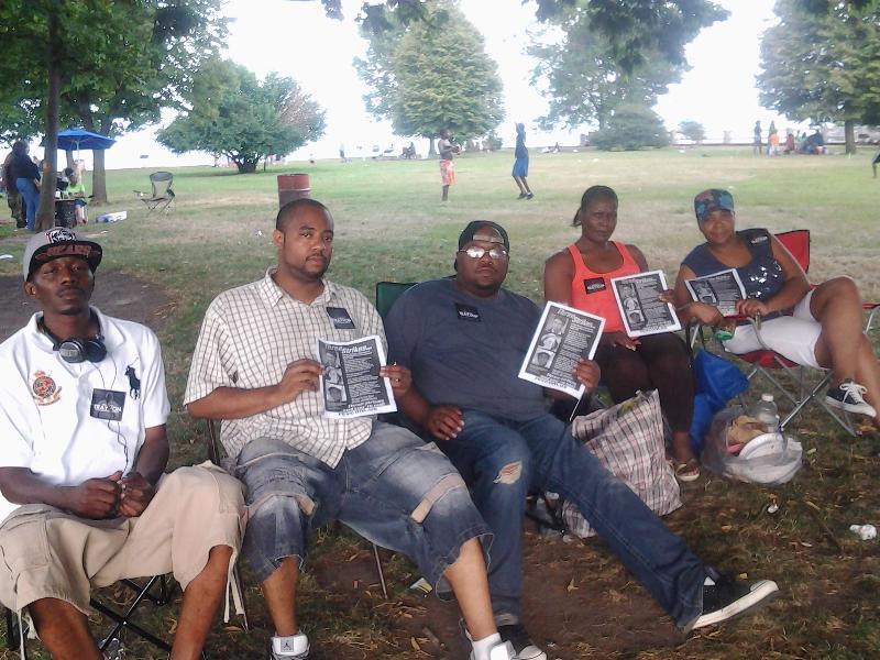BAE picnic van tour