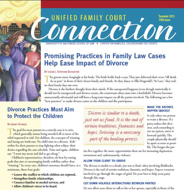 Summer 2012 Unified Family Court Connection