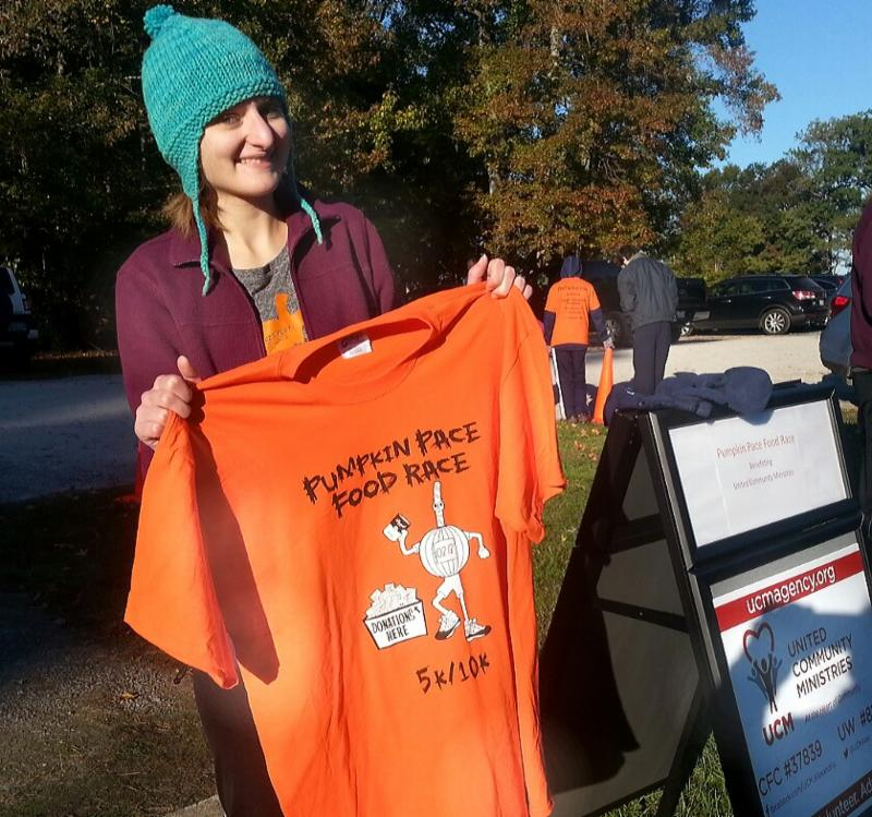 Pumpkin Pace Food Race