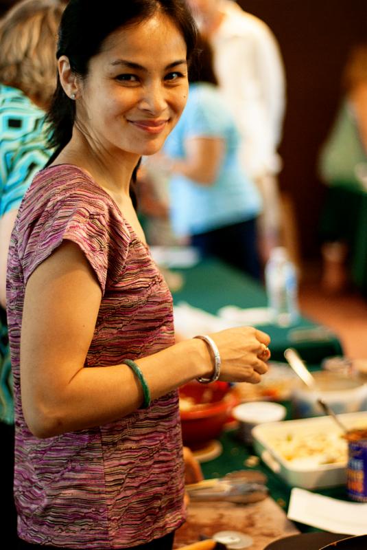 Volunteer Mai Trinh