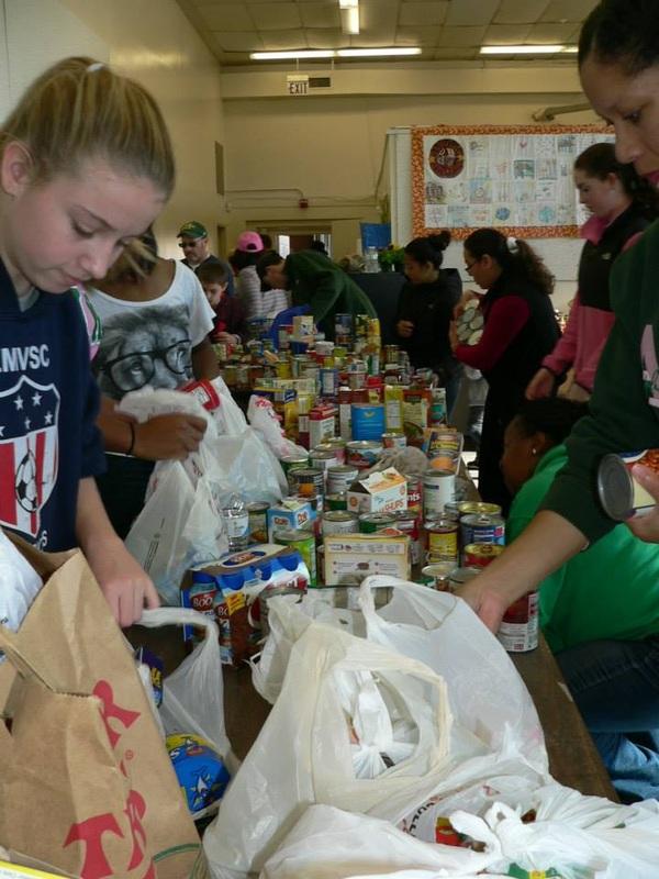 Food volunteers!