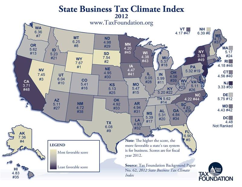 Business Tax Climate Index