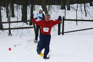 Victorious Snowshoer