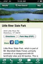 iPhone Park Website